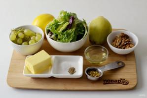Салат с грушей и виноградом - фото шаг 1