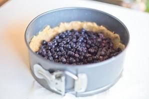Черничный торт со сметаной - фото шаг 3
