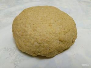 Постные слоёные пирожки с кольраби - фото шаг 4