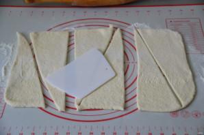 Круассаны со сливками - фото шаг 3