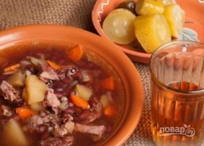 Суп из красной фасоли со свининой - фото шаг 4