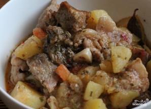 Картошка в чугунке в духовке - фото шаг 6