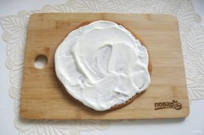 Сметанный торт с медовыми коржами - фото шаг 14