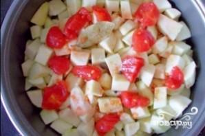 Картофель тушеный с кабачками - фото шаг 9