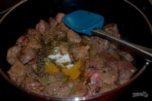 Рагу из печенки с овощами - фото шаг 2