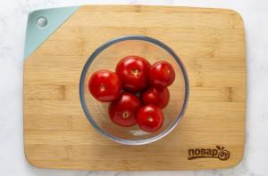 Пряные соленые помидоры - фото шаг 3