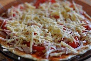 """Пицца """"Минутка"""" в микроволновой печи - фото шаг 2"""
