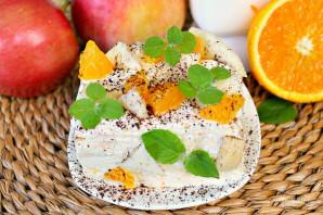 Бисквитное фруктовое пирожное - фото шаг 14