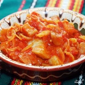 Лечо с баклажанами и помидорами - фото шаг 10