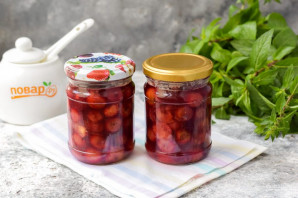 Варенье из вишни с корицей - фото шаг 7