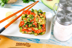 Тартар из лосося по-азиатски - фото шаг 5