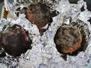 Салат из свеклы и феты - фото шаг 2