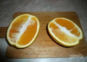 Курица с апельсином и луком - фото шаг 3