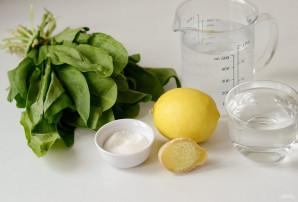 Лимонад из щавеля - фото шаг 1