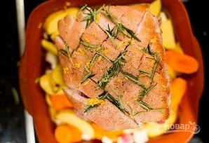 Свиная корейка в духовке - фото шаг 3