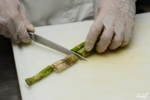 Спаржа с лососем - фото шаг 1