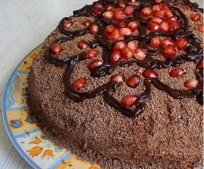 Торт с маком и сметанным кремом - фото шаг 4