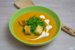 Сливочный томатный суп с базиликом  - фото шаг 9