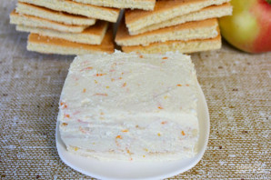 Бисквитное фруктовое пирожное - фото шаг 13