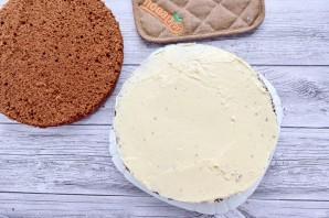 Шоколадный торт со сливочным кремом - фото шаг 7
