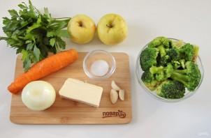 Суп с брокколи и яблоком - фото шаг 1