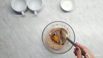 Шоколадный кекс за 3 минуты в микроволновке - фото шаг 2