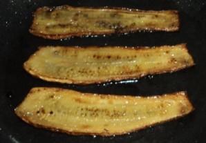 Рулетики из кабачков с орехами - фото шаг 2