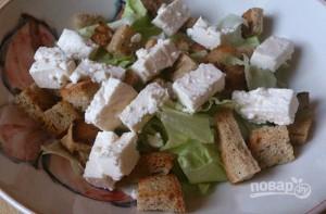 Салат с ветчиной и сухариками - фото шаг 11