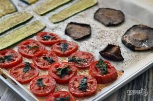 Закуска из печеных овощей с сыром - фото шаг 6