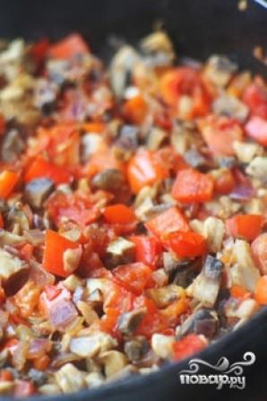 Фасоль с грибами - фото шаг 6