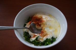 Кефирный соус с зеленью - фото шаг 3