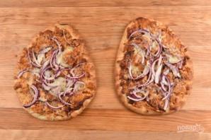 Барбекю пицца с креветками - фото шаг 4