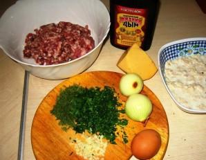 Зразы с сыром в духовке - фото шаг 1
