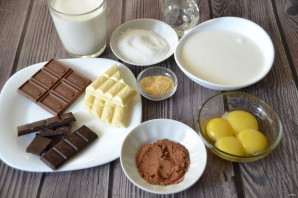 """Десерт """"Три шоколада"""" - фото шаг 1"""