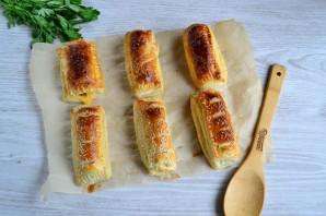 Сосиски с сыром в тесте - фото шаг 7