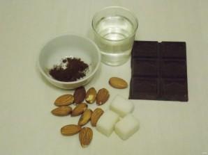 Миндаль в шоколаде - фото шаг 1