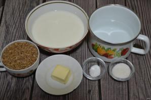 Каша из полбы на молоке - фото шаг 1