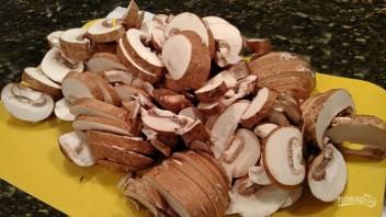 Суп со сливками и грибами - фото шаг 3