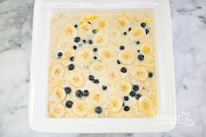 Овсяный пирог с бананами и черникой - фото шаг 4