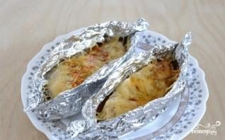 Индейка под сыром в духовке - фото шаг 7