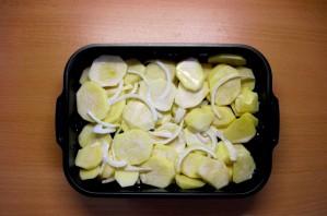 Мясная запеканка с картофелем - фото шаг 3