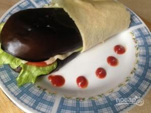 Сэндвич из баклажана - фото шаг 9