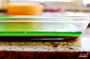 Разноцветное желе - фото шаг 11