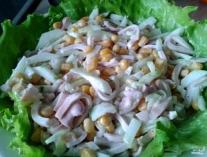 Салат с кальмарами и луком - фото шаг 4