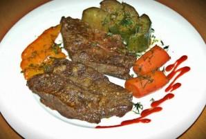 Телятина в духовке с овощами - фото шаг 6