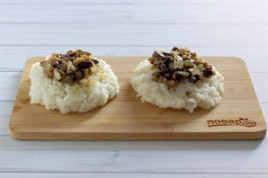 Рисовые зразы с грибами - фото шаг 4