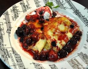 Десерт фламбе - фото шаг 5