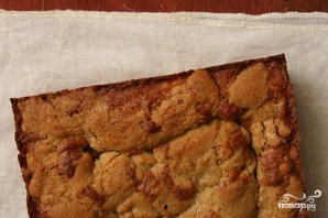 Яблочный пирог с орехами и изюмом - фото шаг 4