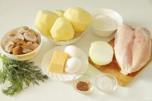 Фаршированные котлеты в картофельной шубке - фото шаг 1