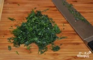 Греческий салат с капустой - фото шаг 6